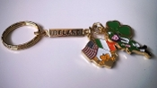 Irish Charm Keychain