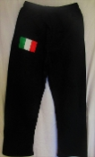 Men's Italian Flag Sweatpants