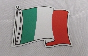 Italian Flag Magnet - Large